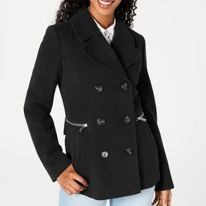 NWT / Juniors Double Breasted Peacoat